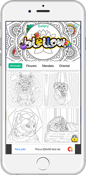 App for Animal coloring - Relax